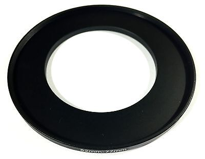 52 - 77 52mm to 77mm STEPPING STEP UP FILTER RING ADAPTER 52mm-77mm 52-77mm UK