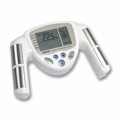 Omron BF306 Hand Held Body Fat Composition Monitor scale analyser New