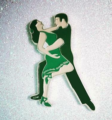 "Unique Latin Dance Gift / Magnet ""Salsa Verde"" in Green"