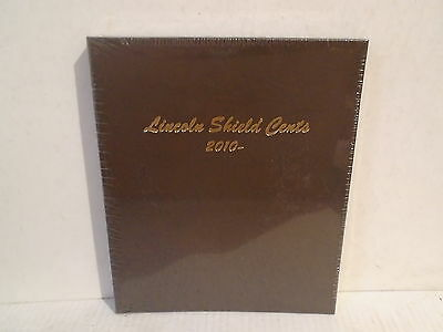 Dansco Coin Album # 7104 U.S. Lincoln Shield Cents 2010 - Date Penny New