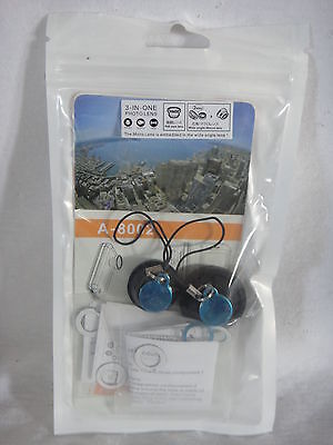 VicTsing Detachable Magnetic Wide Angle, Micro, Fish Eye Lens 3 in 1 Kit New!!!!