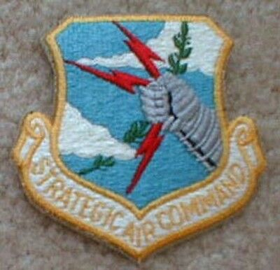 Obsolete  U.S. Air Force Strategic Air Command patch