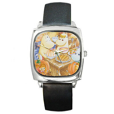 Moomin ultimate leather wrist watch