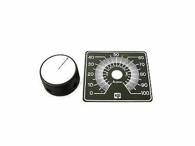 KB Electronics KB-9832 (LARGE) Knob and Dial Kit for AC and DC Motor Controls