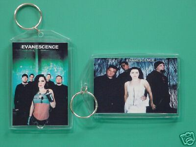 EVANESCENCE - with 2 Photos - Designer Collectible GIFT Keychain