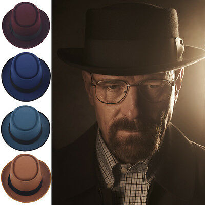 Men Women Pork Pie Hats Sailor Boater Caps Sunhat Sunbonnet Fedora Trilby Panama
