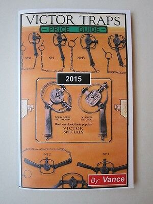 2015 Victor Trap Price Guide by Vance