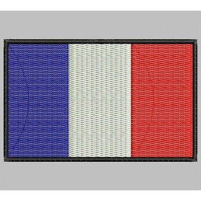Parche Bordado Bandera de FRANCIA / Embroidery patch Flag of FRANCE..