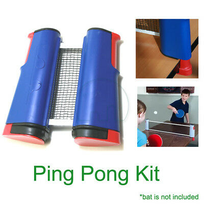 Games Portable Retractable Table Tennis Ping Pong Net Kit Replacement Set New