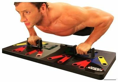 Power Press Push Up Complete Push Up Training System + Tone and Burn Workout DVD