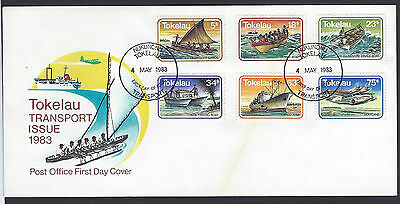 Tokelau 1983 Transport set on unaddressed official first day cover