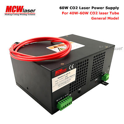 HQ Professional 60W Power Supply for CO2 Laser Engraving Cutting Machine 220V