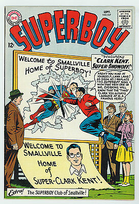 Superboy #107 7.0 White Pages Silver Age