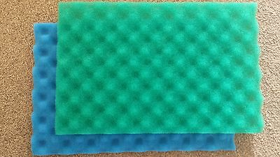"COARSE AND MEDIUM FOAM 17"" x 11"" (425mm x 280mm) - colour may vary"