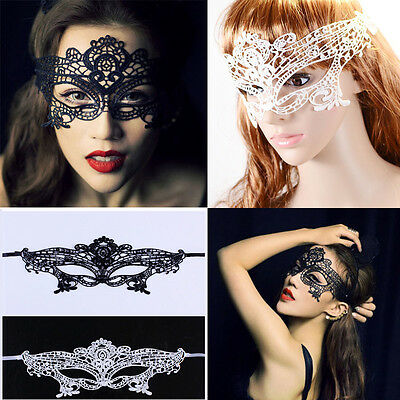 Fashion Hot Party Catwoman Mask Woman Costume Sexy Lace Masquerade Ball Gift