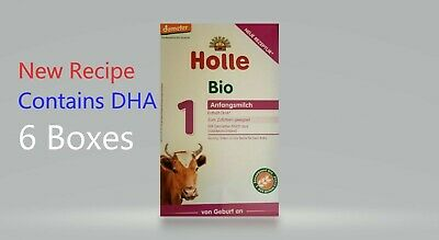 Holle Organic  Stage 1  ( 6- BOX) Free Priority Shipping Top Rated 4/2018