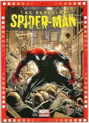 THE SUPERIOR SPIDER-MAN 119-GC 2014 MARVEL NOW CUTTING EDGE VARIANT COMIC CARD