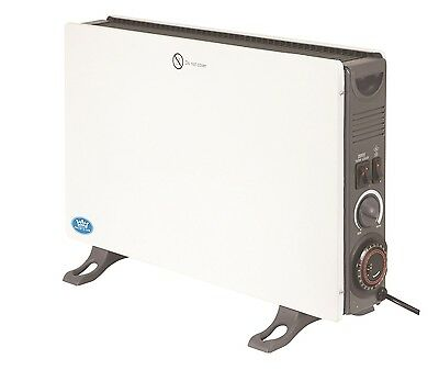 Prem-i-Air 2 kW Home Office Convector Heater Radiator Turbo Fan Wall Mount #1642