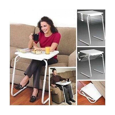 Mesa Table Mate Plegable Auxiliar Bandeja Para Cama Sofa Ordenador Portatil Tv