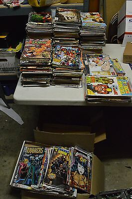 Random lot of 15 vintage comic book choose Marvel DC or other 1980s' to modern