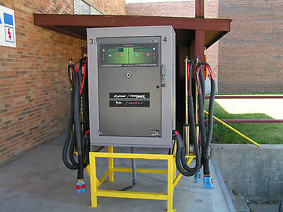 Aker Wade Twinmax 5002, Fast Charger 500 Amps 6-40 Cells W/Stand Mint Condition
