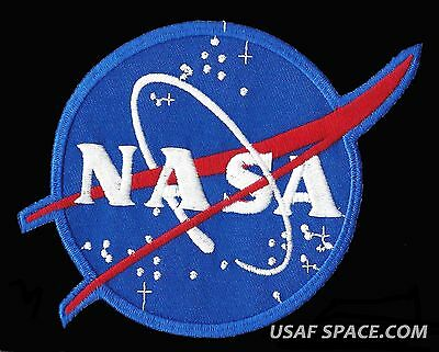 "AUTHENTIC NASA VECTOR AB Emblem 5 1/2"" SPACE PATCH USA"