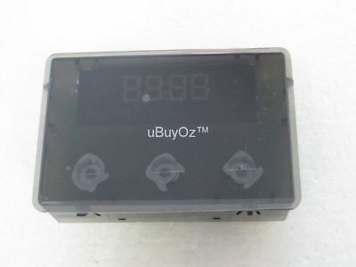 Chef Oven Clock Timer Display Unit Red Genuine