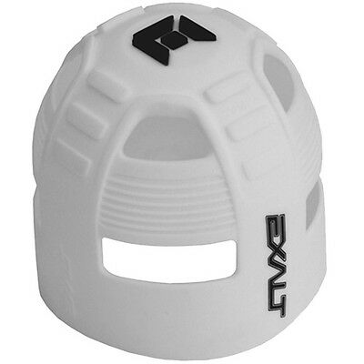 Exalt Tank Grip - Fits All HPA Tanks - White/Black - Paintball - NEW
