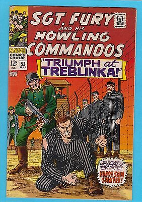 Sgt. Fury and His Howling Commandos #52 Marvel 1968 Ayers/Severin VFNM