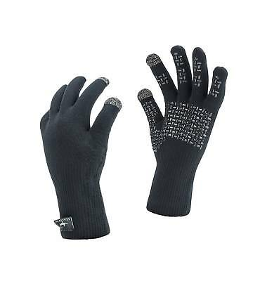 SealSkinz Gloves Ultra Grip Waterproof Windproof - New for 2019 TOUCHSCREEN!