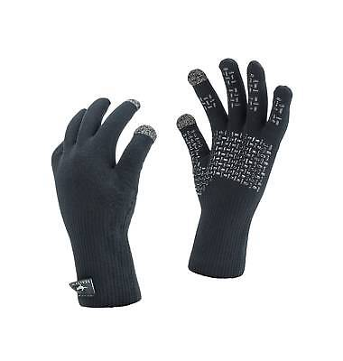 SealSkinz Gloves Ultra Grip, Waterproof, Windproof and Breathable - BLACK
