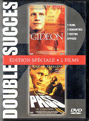Double DVD Gideon - The pass (tbe) | Comedie | Christophe Lambert - Forsythe