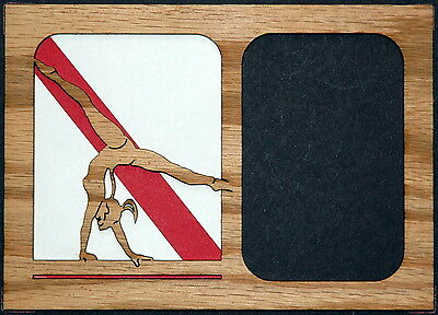 Gymnast Female Picture Frame Insert Only 5x7