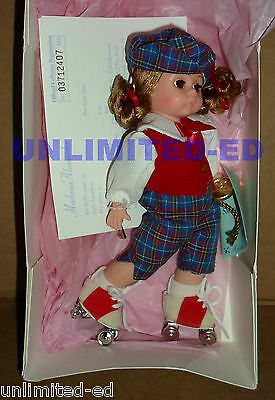 """Madame Alexander - Skate With Wendy 8"""" Doll #79720 - BRAND NEW in BOX"""