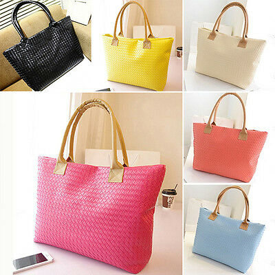 Fashion Women Handbag Shoulder Tote PU Leather Messenger Hobo Bag Purse Satchel