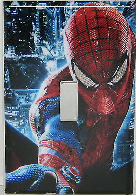 Spiderman Single switch plate light cover  Single toggle switch plate