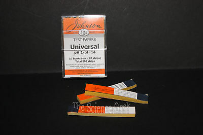 Universal Indicator Test Paper PH 1-11 40 strips 2 packs New