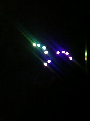 7 Mode LED Flashing Gloves for Raves, Doofs and Discos, Glow in the Dark