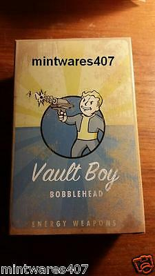 """Fallout 3 Energy Weapons 101 Bobblehead 5"""" NIB Discontinued 2014"""