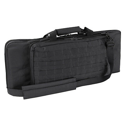 """NEW CONDOR #150: 28"""" Rifle MOLLE Modular WEB Padded Shoulder Carrying Case BLACK"""