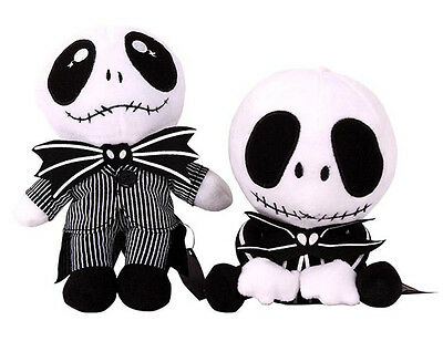 Nightmare Before Christmas Jack Skellington Plush Toy Soft Toy Doll FREE SHIP