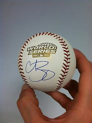 Curt Schilling Signed 2004 WS Baseball IMPERFECT Steiner COA Red Sox