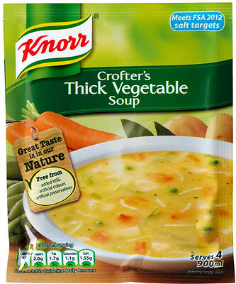 Knorr Crofters Thick Vegetable  Soup 3 X 75G