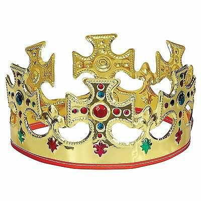 NATIVITY MAJESTIC CROWN - KING or QUEEN - FANCY DRESS PARTY