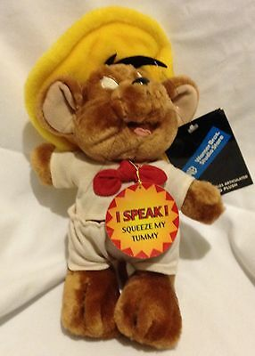 Talking Speedy Gonzales Plush..New With Tags..