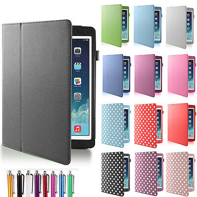 New Smart Magnetic Leather Case Cover For iPad 2, 3, 4 & iPad 5 Air & iPad mini