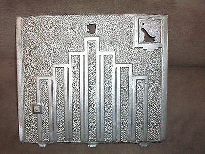 1930's Daval Chicago Clubhouse  Trade Stimulator Back Door Casting
