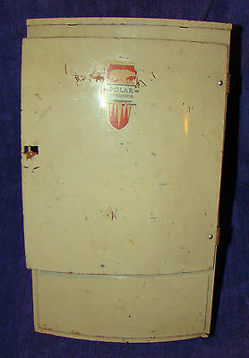 VINTAGE Childs Tin Refrigerator Toy Wolverine Polar Made in USA Pittsburgh PA