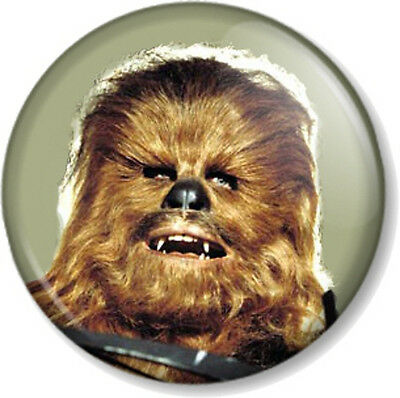 Starwars Solo Chewbacca I Did It All For The Wookie Pin Badge 38//58//77mm