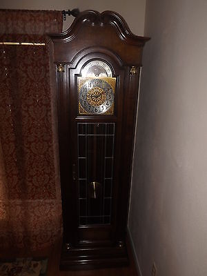Howard Miller Grandfather Clock No. 610-157 Weight Driven Triple Chime Movement